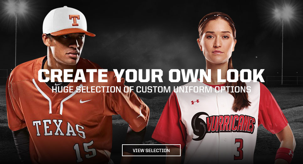 View Custom Baseball/Fastpitch Uniforms
