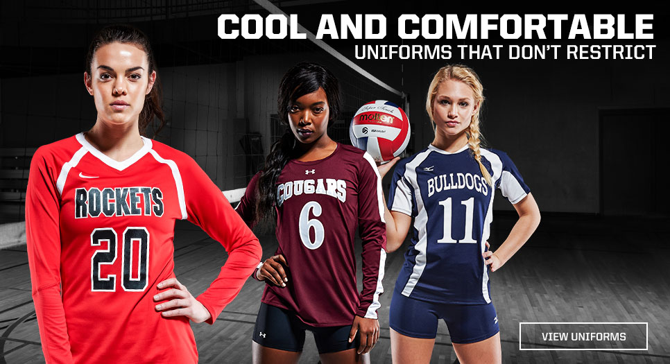 View Volleyball Uniforms