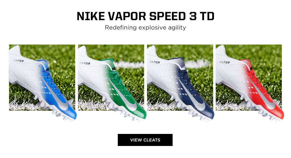 View Nike Vapor Speed 3 TD Football Cleats