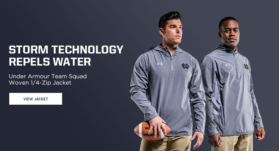 View Under Armour Team Squad Woven Zip Jacket