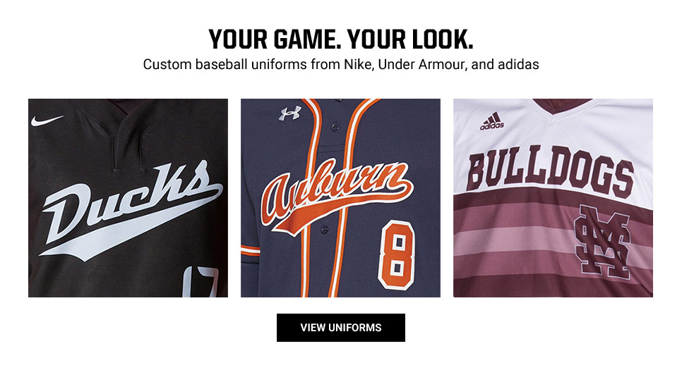 View Custom Baseball Uniforms