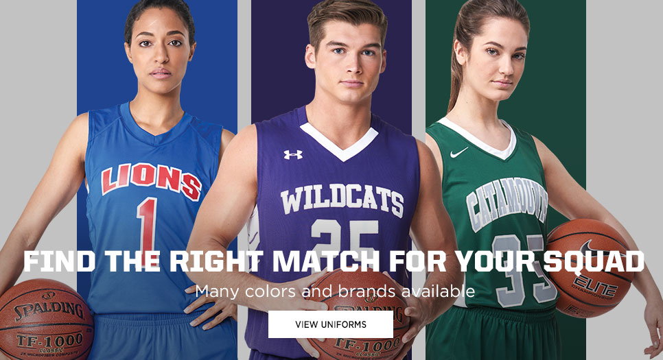 View Stock Basketball Uniforms