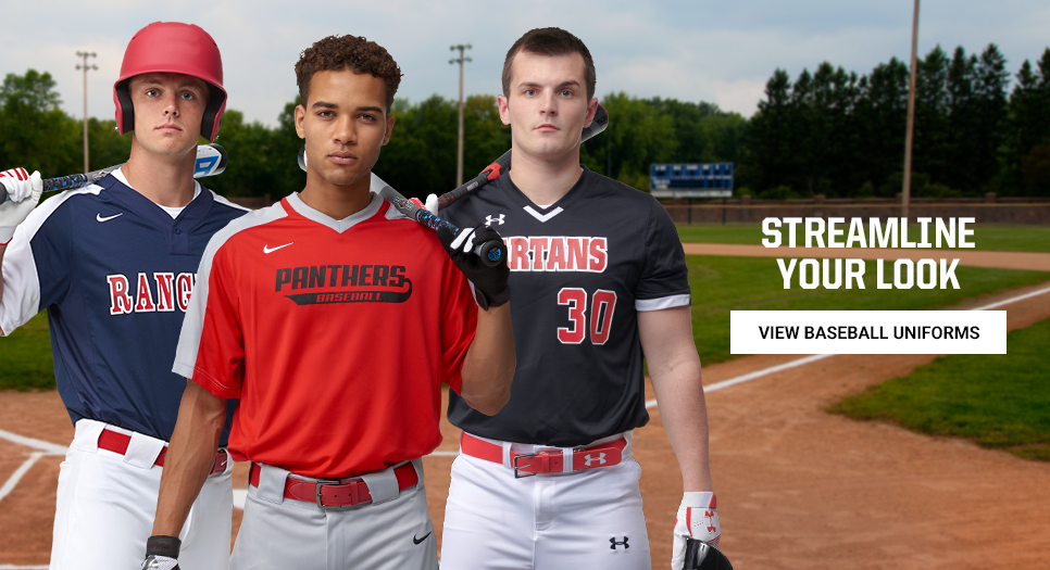 View Baseball Uniforms