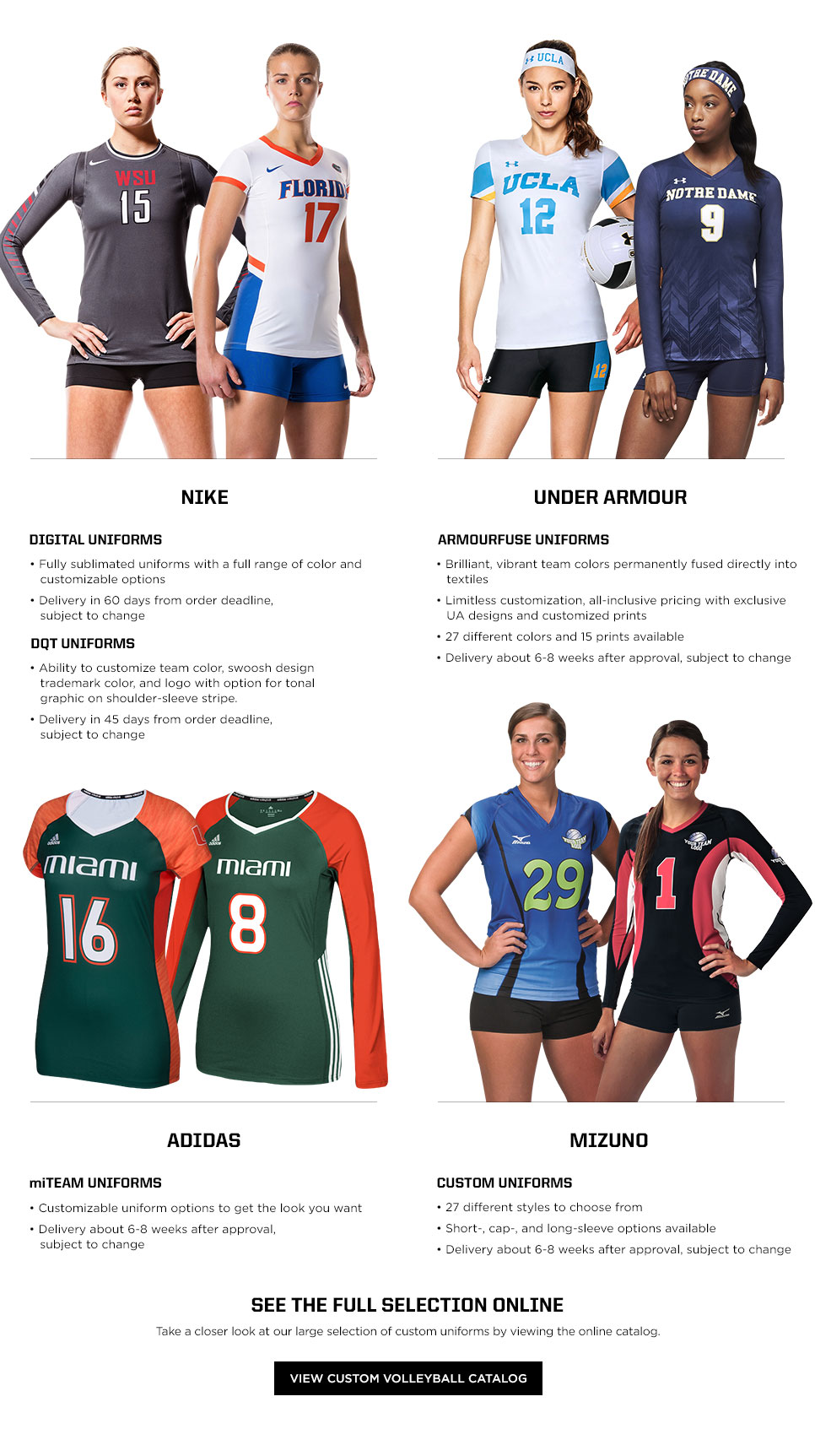 quality design 4d63b c4586 Custom Uniforms | Eastbay Team Sales