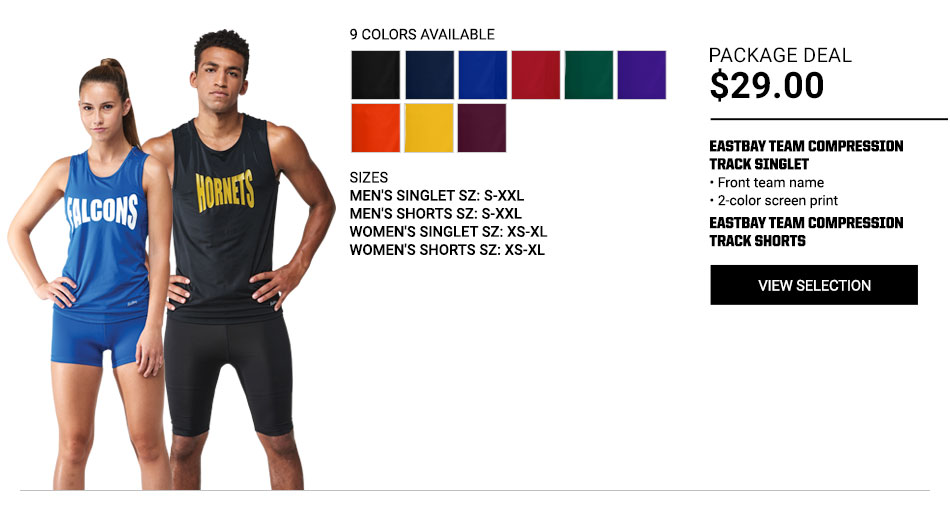 $29 Eastbay Team Track Package Deal