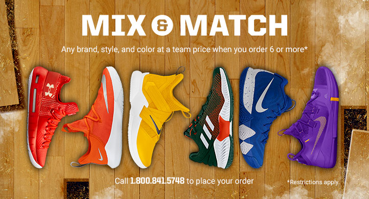 Mix & Match Basketball Shoes