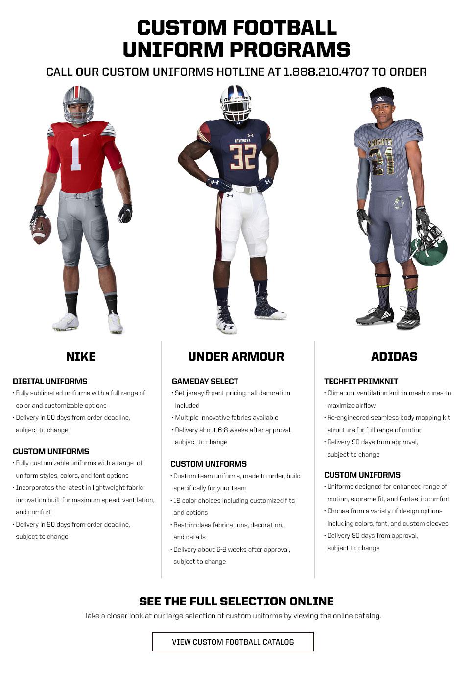 83c01f1a89e2 Custom Football Uniforms