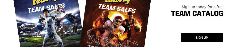 Sign Up to Receive Eastbay Team Sales Catalogs