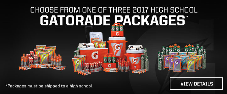 View Gatorade Packages
